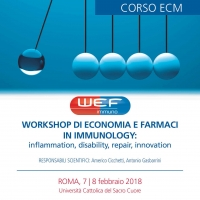 Workshop di economia e farmaci in immunology
