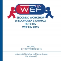 Secondo Workshop di Economia e Farmaci per l'HIV